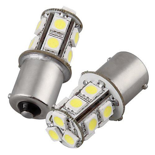 2pcs 1156 Car Light Bulbs 2 W SMD 5050 135 lm Tail Light For universal