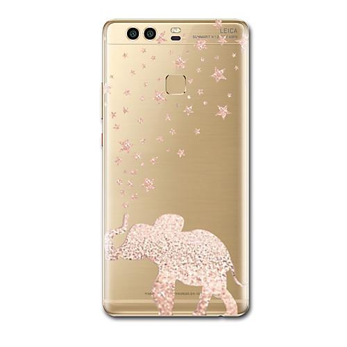 Кейс для Назначение Huawei P9 Huawei P9 Lite Huawei P8 Huawei Huawei P9 Plus Huawei P7 Huawei P8 Lite Ультратонкий С узором Кейс на стоимость