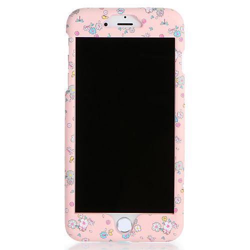 Кейс для Назначение Apple iPhone 7 Plus iPhone 7 С узором Чехол Цветы Твердый ПК для iPhone 7 Plus iPhone 7 iPhone 6s Plus iPhone 6s ic cnc milling machine mould for iphone 6s 6s 7 7
