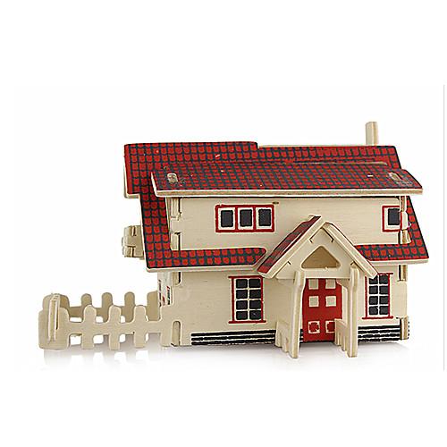 3D пазлы Пазлы Деревянные игрушки Наборы для моделирования Знаменитое здание Архитектура 3D моделирование Своими руками Дерево Классика