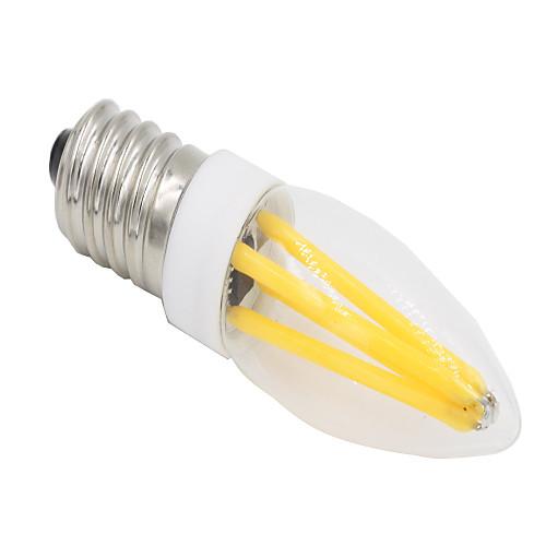 2W 280-300lm E14 G9 Двухштырьковые LED лампы T 4 Светодиодные бусины COB Диммируемая Тёплый белый Холодный белый 220-240V