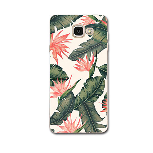 Case For Samsung Galaxy A7(2017) / A3(2017) Ultra-thin / Pattern Back Cover Flower Soft TPU for A3(2017) / A7(2017) / A5(2016)