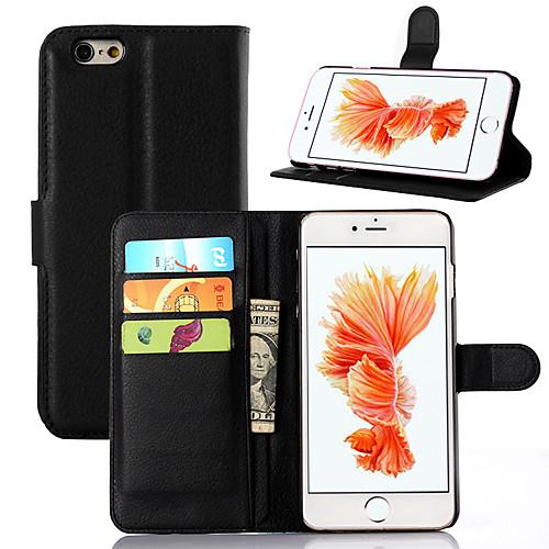 Кейс для Назначение Apple iPhone 7 Plus iPhone 7 Бумажник для карт Кошелек Защита от удара со стендом Ультратонкий Other Чехол Сплошной оборудование для производства влажных салфеток 7 pb80m868 other