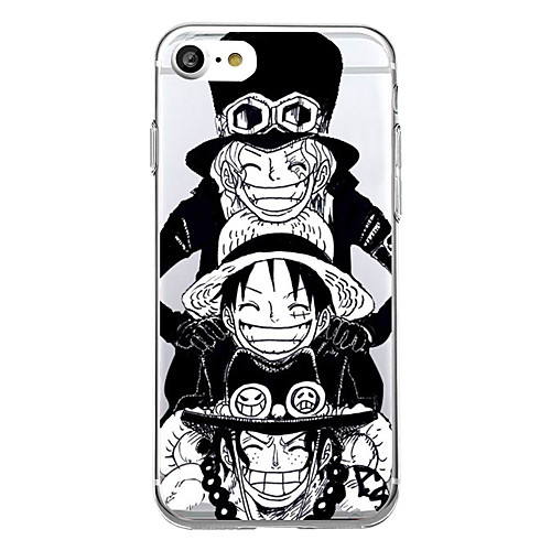 Case For Apple iPhone X / iPhone 8 Ultra-thin / Pattern Back Cover Cartoon Soft TPU for iPhone X / iPhone 8 Plus / iPhone 8