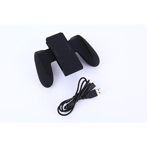 USB Батареи и зарядные устройства Назначение Nintendo Переключатель,пластик Батареи и зарядные устройства Перезаряжаемый Проводной