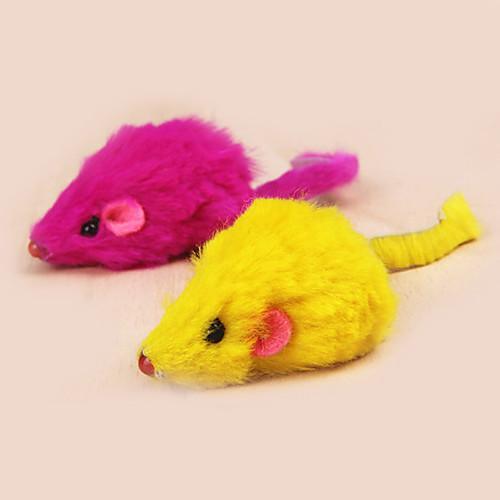 Игрушки-приманки Дразнилки для кошек Мышь текстильный Назначение Кошка Котёнок