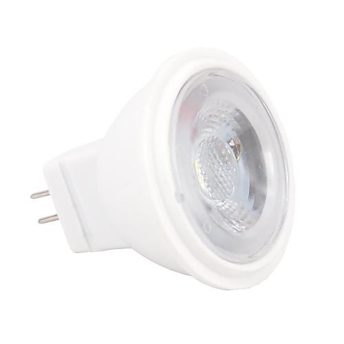 2W 100-120lm GU4(MR11) Точечное LED освещение MR11 3 Светодиодные бусины SMD 2835 Диммируемая Тёплый белый Холодный белый 12V цена