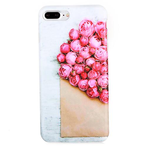 Кейс для Назначение Apple iPhone 7 Plus iPhone 7 С узором Кейс на заднюю панель Цветы Мягкий ТПУ для iPhone 7 Plus iPhone 7 iPhone 6s ic cnc milling machine mould for iphone 6s 6s 7 7