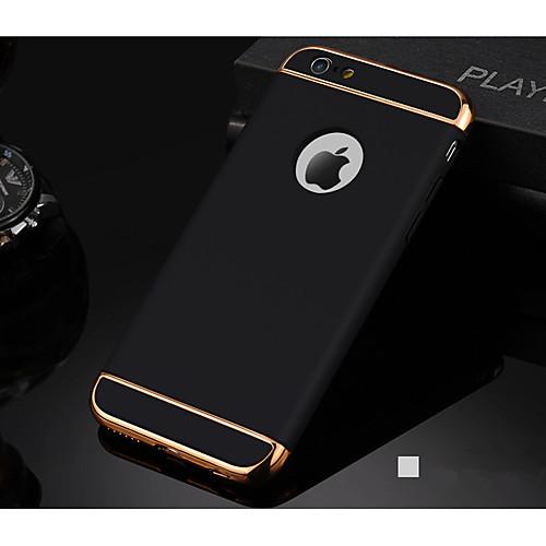 Кейс для Назначение Apple iPhone 7 Plus / iPhone 7 Ультратонкий Кейс на заднюю панель Однотонный Мягкий ПК для iPhone 7 Plus / iPhone 7 / ic cnc milling machine mould for iphone 6s 6s 7 7