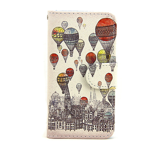 Кейс для Назначение Apple iPhone 7 Plus iPhone 7 Бумажник для карт Кошелек со стендом Флип Чехол Воздушные шары Твердый Кожа PU для чехол для для мобильных телефонов cy apple iphone 4 4 g 4s 5 5 g 5s 5c 6 6 for 4 4s 5 5s 5c 6 or 6plus