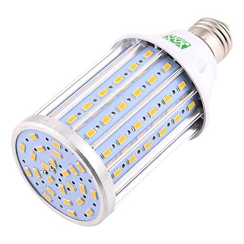 YWXLIGHT 1шт 35W 3400-3500lm E26 / E27 LED лампы типа Корн T 108 Светодиодные бусины SMD 5730 Декоративная Светодиодная лампа Тёплый