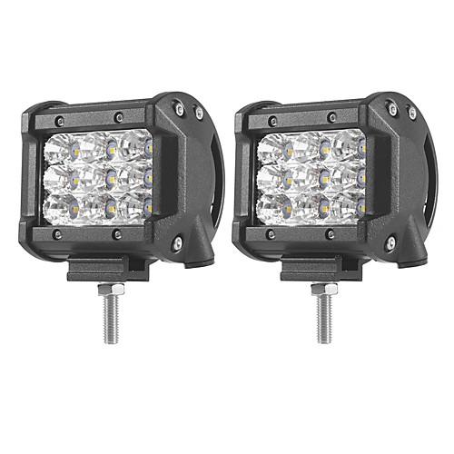 2pcs Автомобиль Лампы 27W SMD 3030 5400lm Светодиодная лампа Рабочее освещение цена