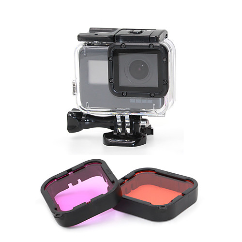 Погружение фильтр На открытом воздухе Для Экшн камера Gopro 5 Дайвинг Серфинг Ныряние/гребля Пластик