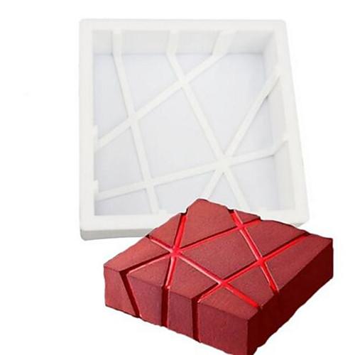выпечке Mold Шоколад Торты Силикон Экологичные Своими руками День рождения 3D Праздник Антипригарное покрытие