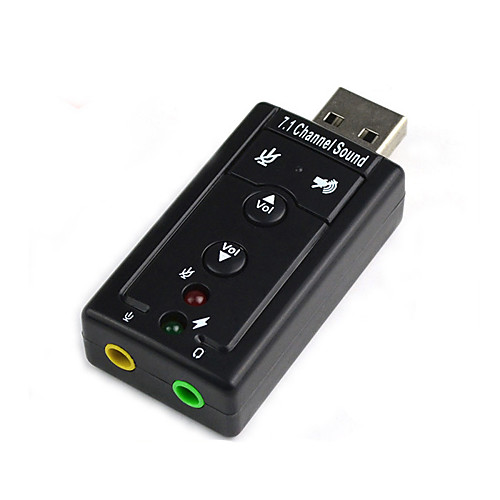 Diewu free drive external usb звуковая карта ноутбук USB-гарнитура адаптер конвертер 7.1 huayuan мультиформатный виртуальных 7 1 канал аудио 3d звуковая карта адаптер с кабелем для pc голосовой чат музыка