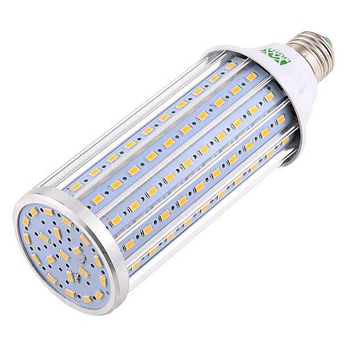 YWXLIGHT 1шт 60W 5900-6000lm E26 / E27 LED лампы типа Корн T 160 Светодиодные бусины SMD 5730 Декоративная Светодиодная лампа Тёплый