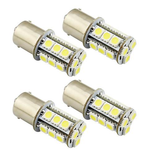 4шт 1156 / 1157 Автомобиль Лампы 2 W SMD 5050 200 lm Светодиодная лампа Внешние осветительные приборы цена