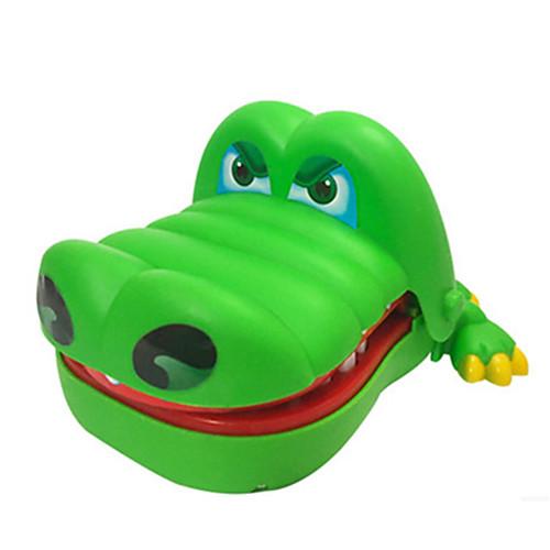 Крокодильчик дантист Устройства для снятия стресса Под крокодила Shark Музыка и свет Большой размер Детские Универсальные Игрушки Подарок
