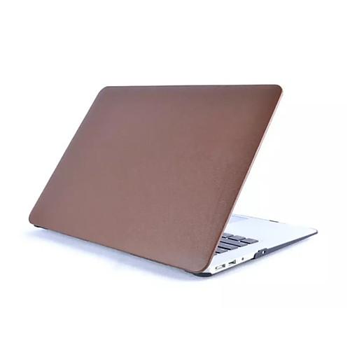 MacBook Кейс Однотонный Кожа PU для Новый MacBook Pro 15 / Новый MacBook Pro 13 / MacBook Pro, 15 дюймов soyan pu laptop sleeve envelope bag for macbook air pro retina 11 12 13 15