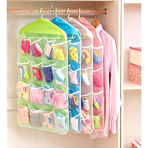 Пластик Многофункциональный Главная организация, 1 комплект Корзины для хранения Вешалки Мешки для хранения фото