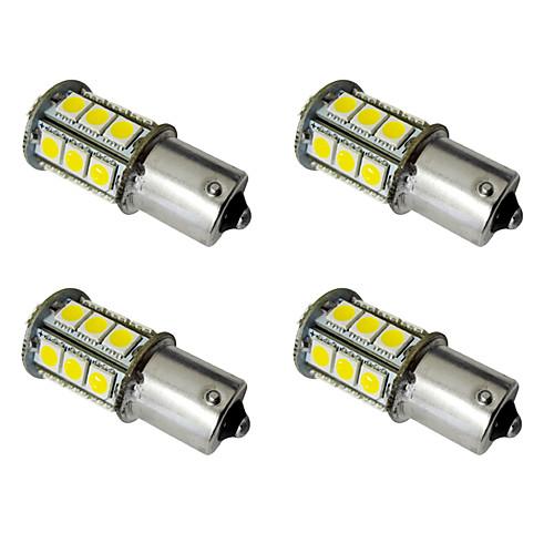 4шт 1156 / 1157 Автомобиль Лампы 2.5W SMD 5050 200lm Светодиодная лампа Внешние осветительные приборы цена