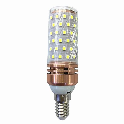 15W 700-800lm E14 LED лампы типа Корн T 78 Светодиодные бусины SMD 2835 Тёплый белый Белый 220V