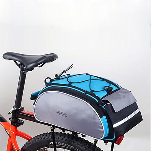 все цены на ROSWHEEL Сумки на багажник велосипеда На открытом воздухе, Задний карман Велосумка/бардачок 600D полиэстер Велосумка/бардачок Велосумка Велосипедный спорт / Велоспорт онлайн