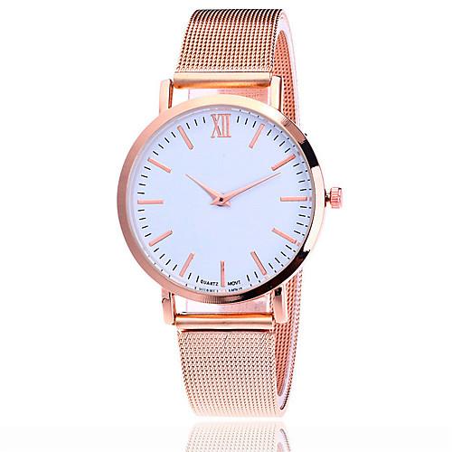 Жен. Кварцевый Наручные часы Китайский Повседневные часы сплав Группа Кулоны На каждый день Нарядные часы Elegant Мода Черный Серебристый