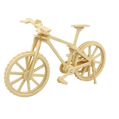 3D пазлы Пазлы Деревянные игрушки Динозавр Летательный аппарат Велоспорт 3D Своими руками деревянный Дерево Классика 6 лет и выше