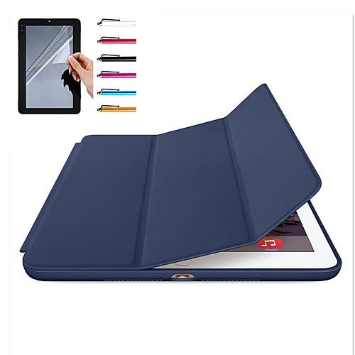 все цены на Кейс для Назначение Apple iPad Mini 4 iPad Mini 3/2/1 iPad 4/3/2 iPad Air 2 iPad Air Магнитный Авто Режим сна / Пробуждение Чехол онлайн