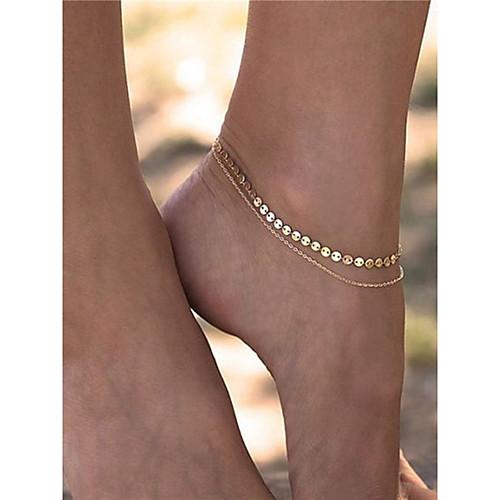 Геометрический принт Украшения на ноги - Мода Золотой Назначение На каждый день / Повседневные / Жен.