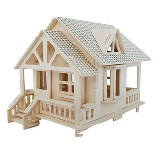 Купить со скидкой 3D пазлы Пазлы Наборы для моделирования Знаменитое здание Мебель Лошадь Своими руками моделирование