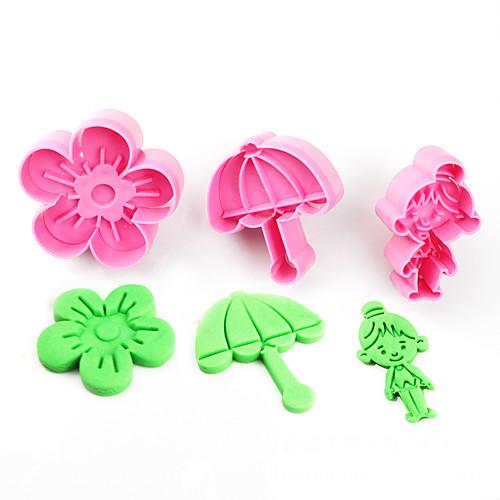 Пластик Для детской Своими руками Торты Файлы cookie Инструменты для выпечки