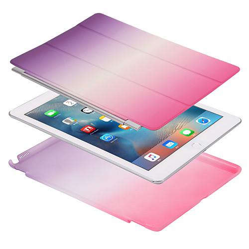 все цены на Кейс для Назначение Apple iPad Mini 4 iPad Mini 3/2/1 iPad 4/3/2 iPad Air 2 iPad Air Магнитный Чехол Сплошной цвет Градиент цвета Твердый онлайн