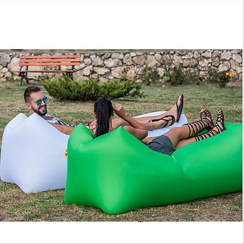 Надувной диван / Надувной матрас / Надувной стул На открытом воздухе Походы Компактность, Влагонепроницаемый, Удобный Оксфорд Отдых и Туризм, Пляж , Путешествия для 1 человек
