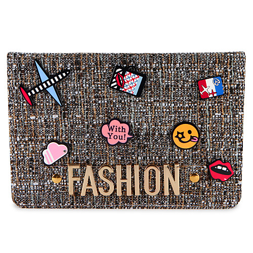 Case For Apple with Stand / Flip / Pattern Full Body Cases Word / Phrase / Cartoon Hard PU Leather for iPad Air / iPad 4/3/2 / iPad Mini 3/2/1 / iPad (2017)