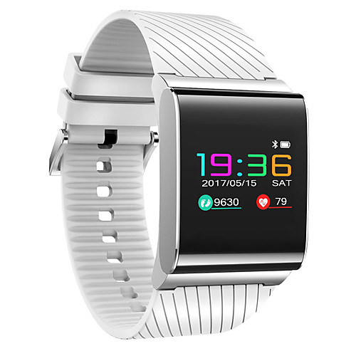 Smart Bracelet Smartwatch for iOS / Android Heart Rate Monitor / Blood Pressure Measurement / Calories Burned / Long Standby / Touch Screen Pedometer / Call Reminder / Activity Tracker / Sleep