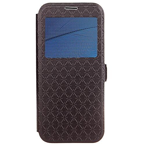 Кейс для Назначение Motorola Бумажник для карт со стендом Флип Рельефный Чехол Геометрический рисунок Твердый Кожа PU для Мото G5 Plus