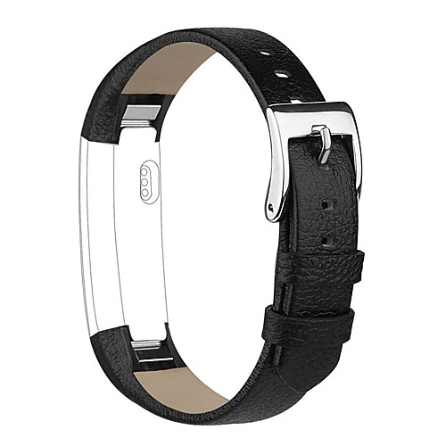 Купить со скидкой Ремешок для часов для Fitbit Alta Fitbit Классическая застежка Натуральная кожа Повязка на запястье