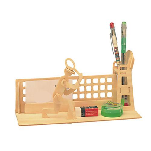 3D пазлы Мячи Пазлы Деревянные игрушки Наборы для моделирования Мебель 3D Своими руками Дерево Классика Универсальные Подарок