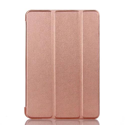 все цены на Кейс для Назначение Apple iPad Mini 4 iPad Mini 3/2/1 iPad 4/3/2 iPad Air 2 iPad Air со стендом Флип Чехол Сплошной цвет Твердый Кожа PU онлайн