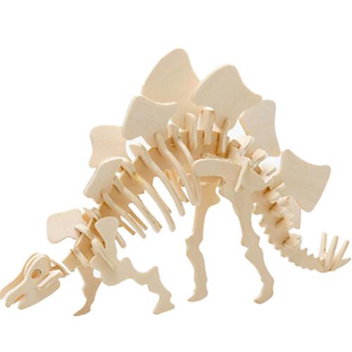 3D пазлы Пазлы Деревянные игрушки Динозавр Летательный аппарат Знаменитое здание Архитектура 3D Своими руками Дерево Классика 3d пазлы пазлы деревянные игрушки динозавр летательный аппарат олень животный принт 3d своими руками деревянный дерево классика