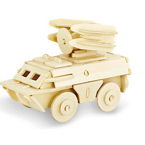 3D пазлы Пазлы Деревянные игрушки Динозавр Танк Летательный аппарат Колесница 3D Своими руками деревянный Дерево Классика Универсальные деревянные игрушки alatoys пазлы лошадки