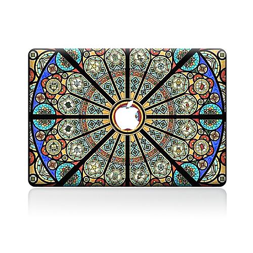 1 ед. Наклейки для Защита от царапин Цветы Узор PVC MacBook Pro 15'' with Retina MacBook Pro 15 '' MacBook Pro 13'' with Retina MacBook soyan pu laptop sleeve envelope bag for macbook air pro retina 11 12 13 15