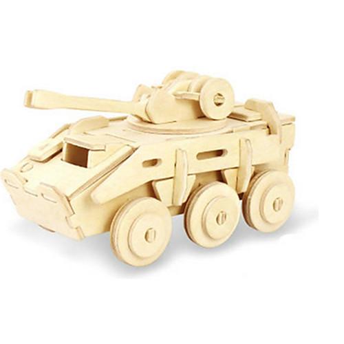 3D пазлы Пазлы Деревянные игрушки Динозавр Танк Летательный аппарат Колесница 3D Своими руками деревянный Дерево Классика Универсальные пазлы pilsan пазлы 4x30