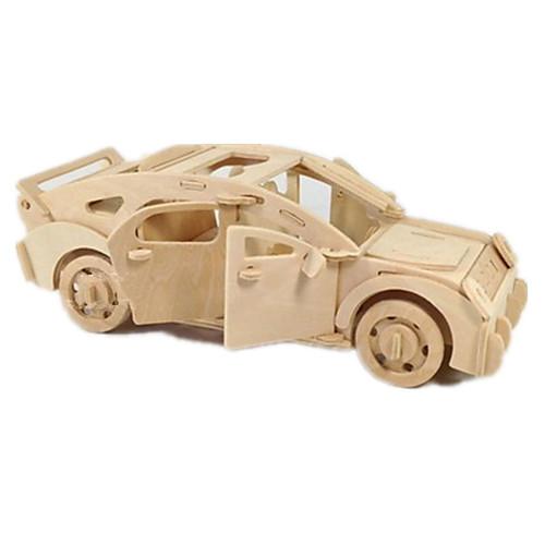 Игрушечные машинки 3D пазлы Пазлы Деревянные игрушки Летательный аппарат Автомобиль 3D Своими руками Дерево Классика Мальчики
