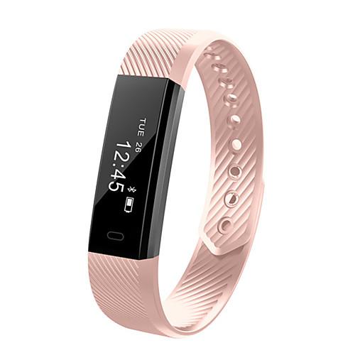 Купить со скидкой ID115 Универсальные Умный браслет Android iOS Bluetooth Спорт Сенсорный экран Израсходовано калорий