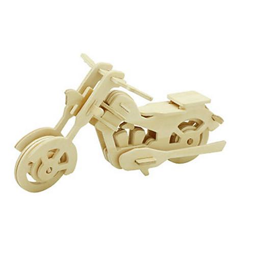 3D пазлы Пазлы Деревянные игрушки Динозавр Летательный аппарат Мото 3D Своими руками деревянный Дерево Классика Мотоспорт Универсальные пазлы pilsan пазлы 4x30
