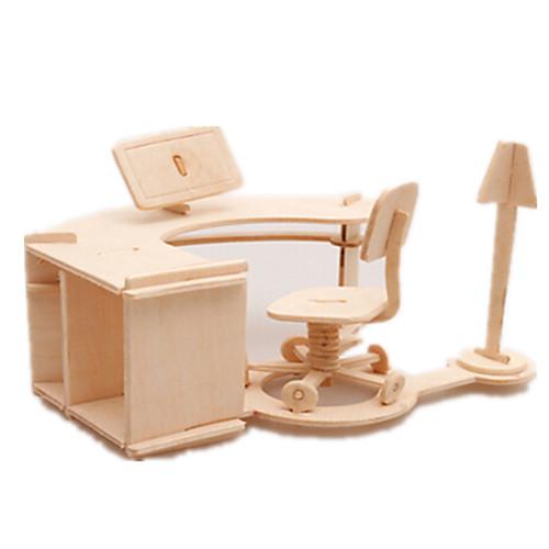 3D пазлы Пазлы Детский гольф Деревянные игрушки Летательный аппарат Знаменитое здание Мебель Гольф Архитектура 3D Своими руками Дерево