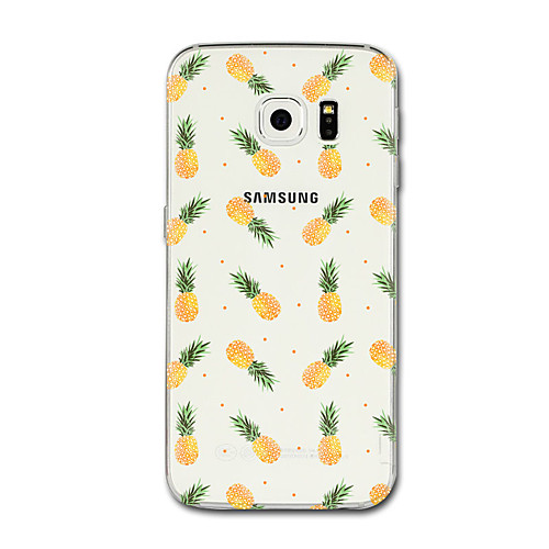 Case For Samsung Galaxy S8 Plus / S8 Transparent / Pattern Back Cover Fruit Soft TPU for S8 Plus / S8 / S7 edge
